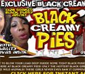Black Creamy Pies